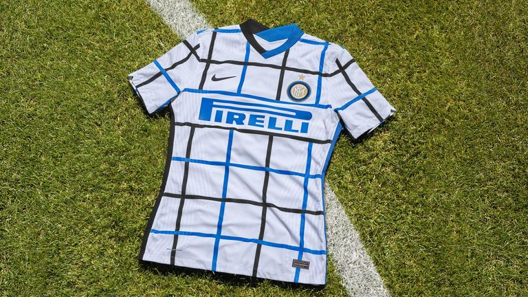 Inter's away kit is as bold as the home one...