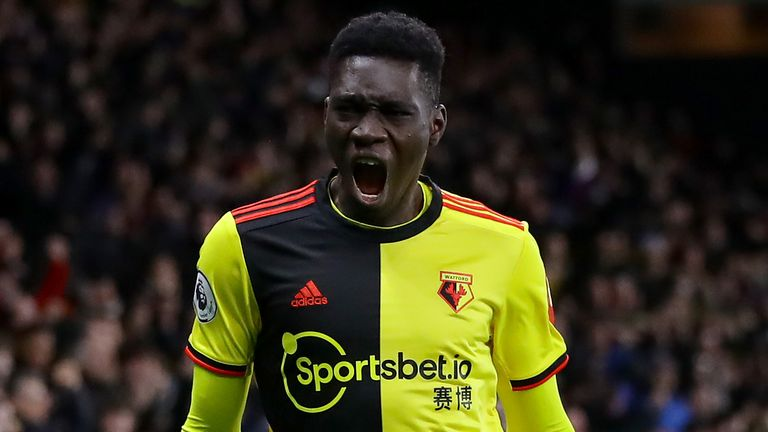Ismaila Sarr has enjoyed a fine opening season at Watford - and could play a major part in keeping the Hornets in the Premier League.