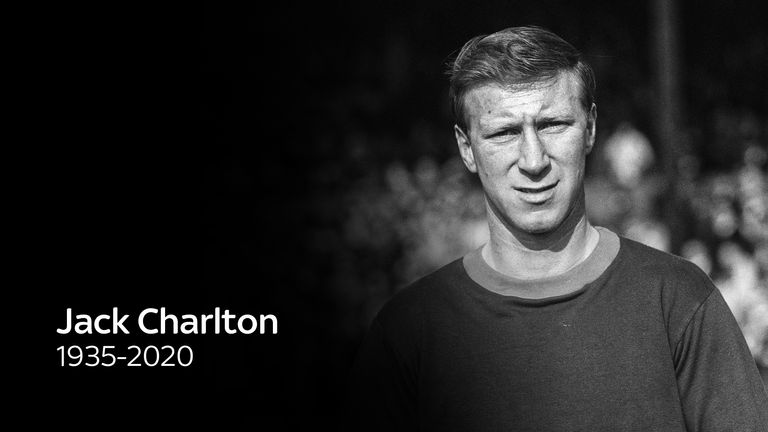 Jack Charlton has died at the age of 85