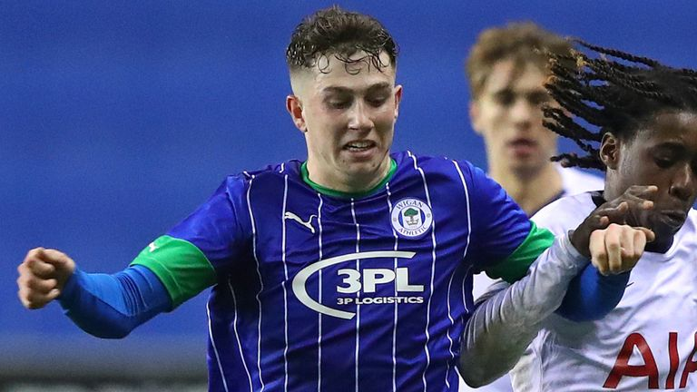 Weir is Wigan's youngest-ever senior debutant