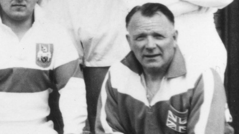 Jim Brough stepped down as coach in the middle of Great Britain's 1958 tour
