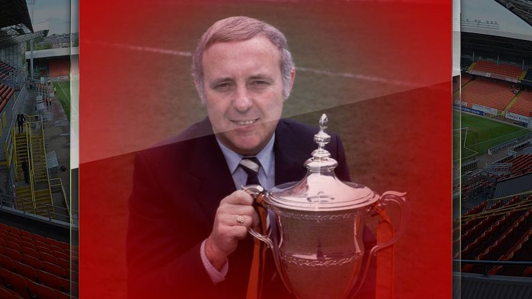Legendary Dundee United manager Jim McLean