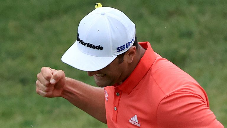 Rahm won The Memorial but finished tied-52nd in Memphis last week