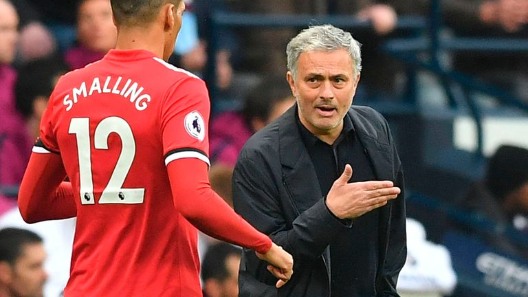 Mourinho's Manchester United recovered from two goals down to beat Manchester City at the Etihad Stadium in 2018