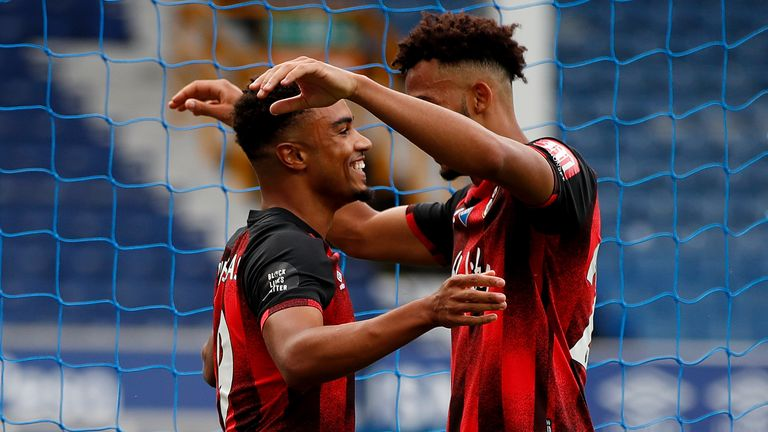 Junior Stanislas came off the bench to extend Bournemouth's lead