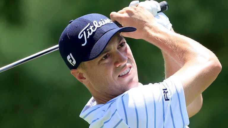 Justin Thomas takes a three-shot lead into the final round