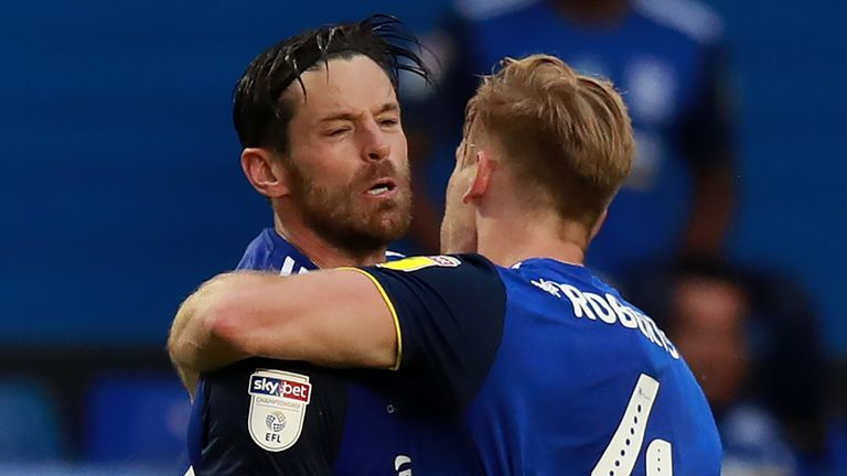 Birmingham's Lukas Jutkiewicz secured a point for the Blues in the third minute of second half stoppage-time