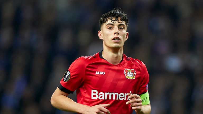 Kai Havertz is keen to complete a move to Chelsea