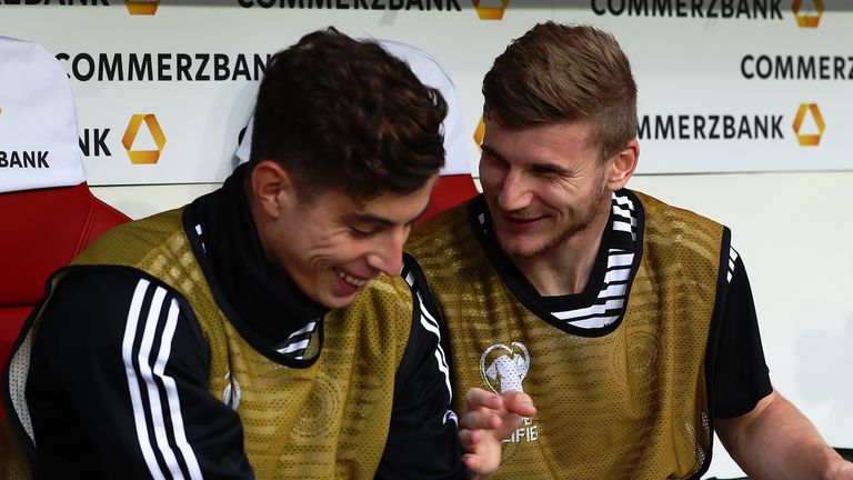Germany team-mates Kai Havertz and Timo Werner could both start next season at Chelsea