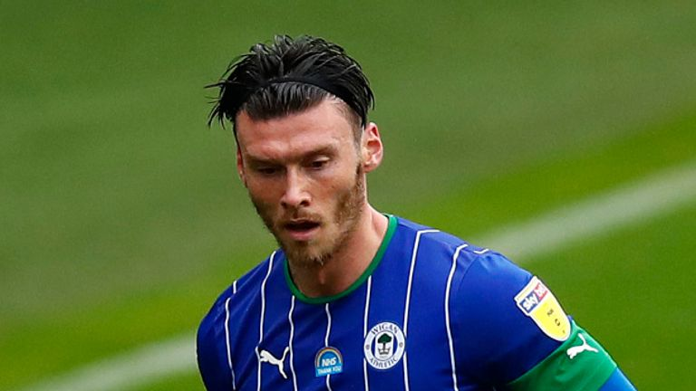 Kieffer Moore's 33rd-minute strike sealed the win for Wigan at the DW Stadium