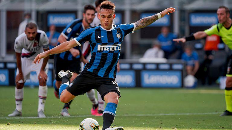 Lautaro Martinez's spot-kick was saved as Inter Milan slumped to defeat