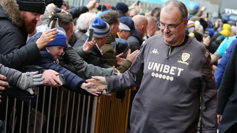 Marcelo Bielsa has become the saviour of Leeds United fans