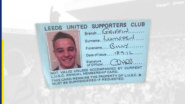 A Griffin Branch membership card for the 2012/13 Championship season.