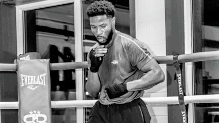 The 27-year-old hopes to make his professional debut this year