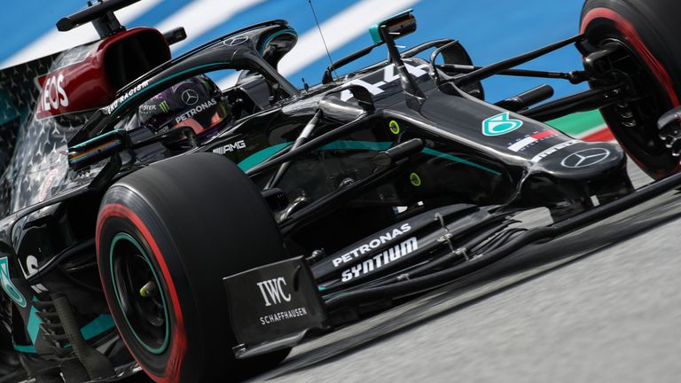 Austrian Gp Practice Two Lewis Hamilton Leaves F1 Rivals Trailing F1 News