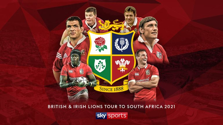 The 2021 Lions Tour to South Africa will be live on Sky Sports.