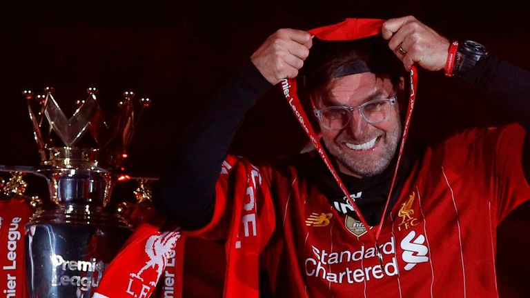 Klopp ended Liverpool's 30-year wait for an English top-flight title