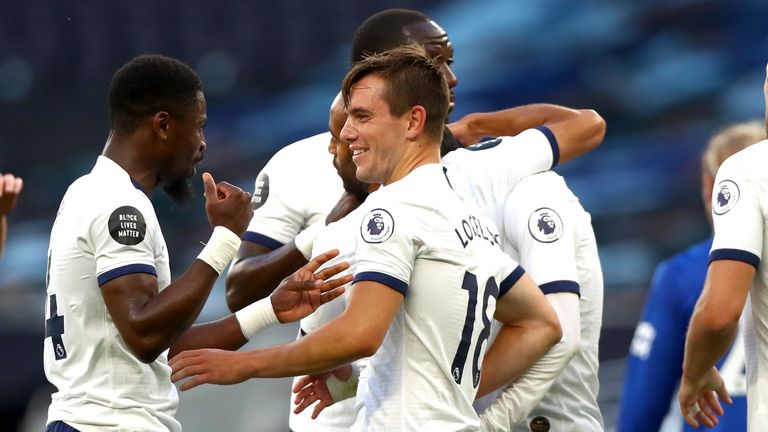Giovani Lo Celso's deflected strike gave Spurs the lead