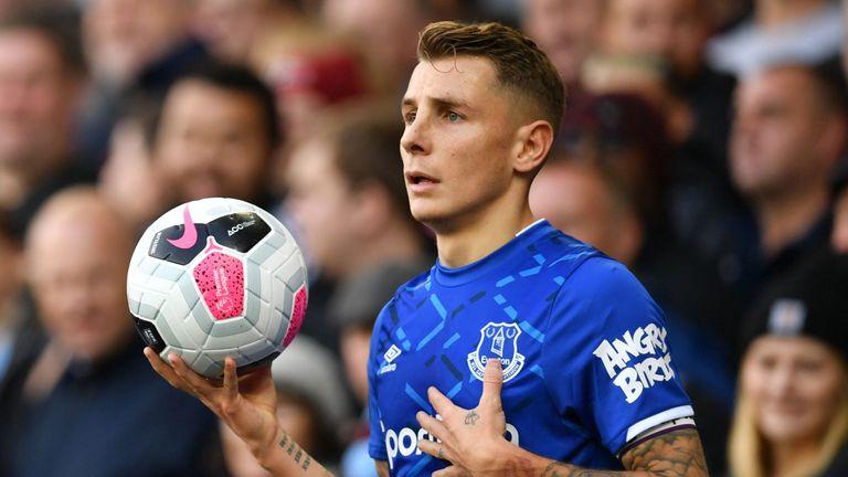 Lucas Digne has created 20 more chances than Everton's next most creative player, Gylfi Sigurdsson