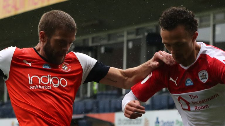 Luton and Barnsley remain in the Championship relegation zone after the draw at Kenilworth Road