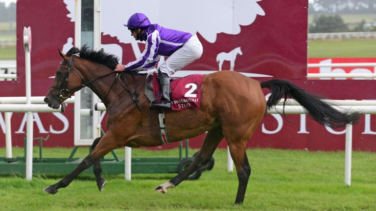 Magical won the Pretty Polly Stakes at Curragh last month
