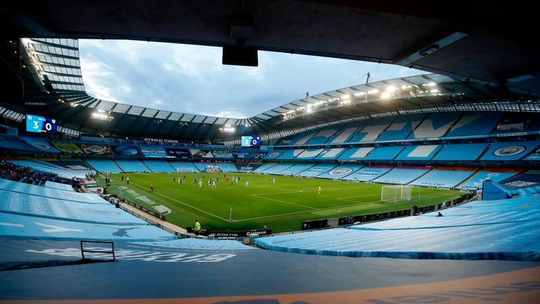 Manchster City's Etihad stadium