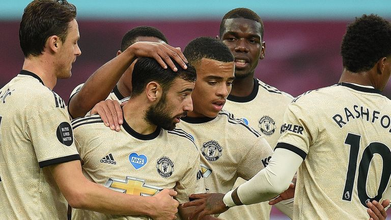 Bruno Fernandes and Mason Greenwood made the difference again