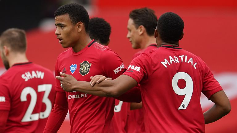 Manchester United Team News Ole Gunnar Solskjaer Names Unchanged Side For Fifth Game Running Football News Sky Sports