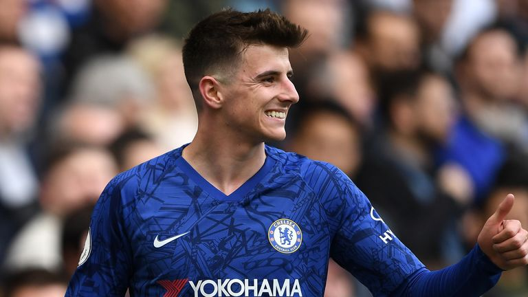 Chelsea U11s head coach Sam Page has helped stars like Mason Mount (pictured) through the Stamford Bridge ranks and has taken a lead role on the new app