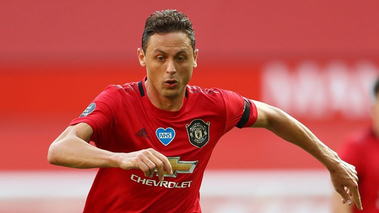 Nemanja Matic has started each of Manchester United's last three league games