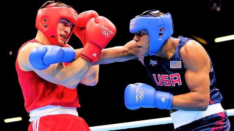 Hunter battled Artur Beterbiev at the London Olympics