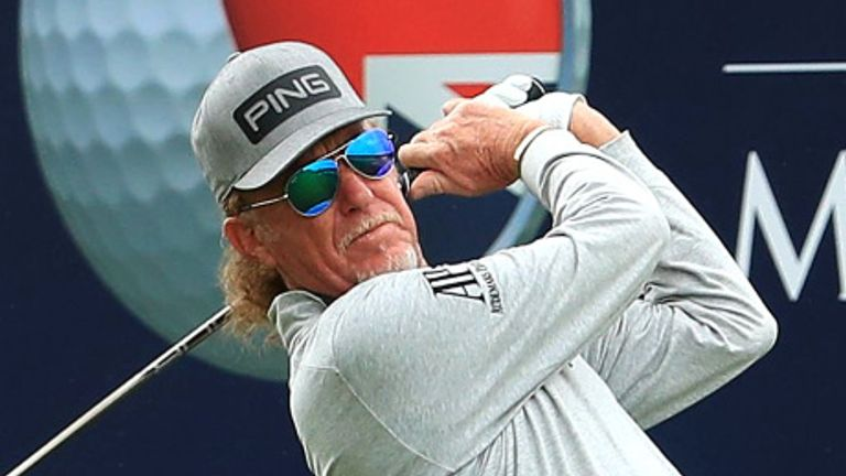 Jimenez equalled Sam Torrance's appearance record last week