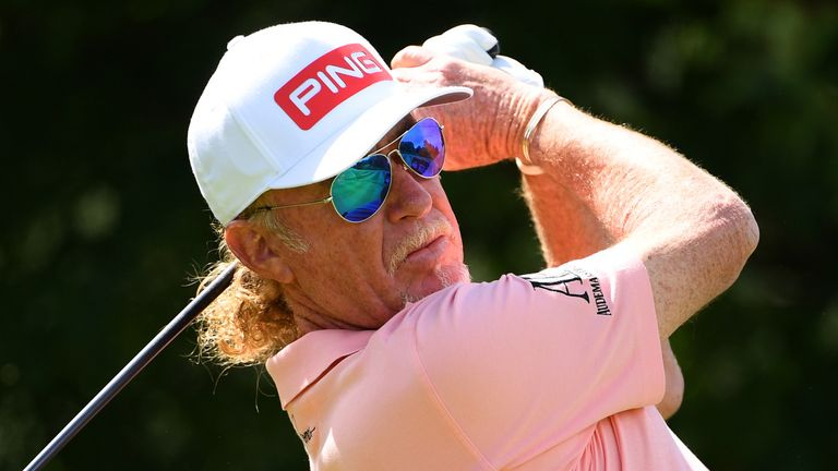 Jimenez is chasing his 22nd career title