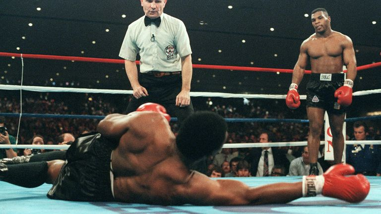 Tyson, 20, became the youngest heavyweight champion ever in 1986