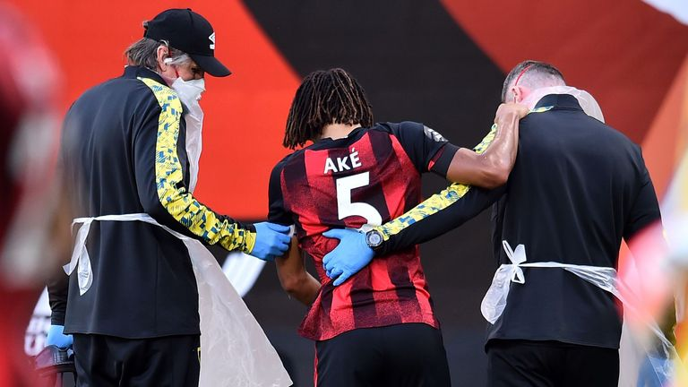 Nathan Ake could miss Bournemouth's last three games of the season