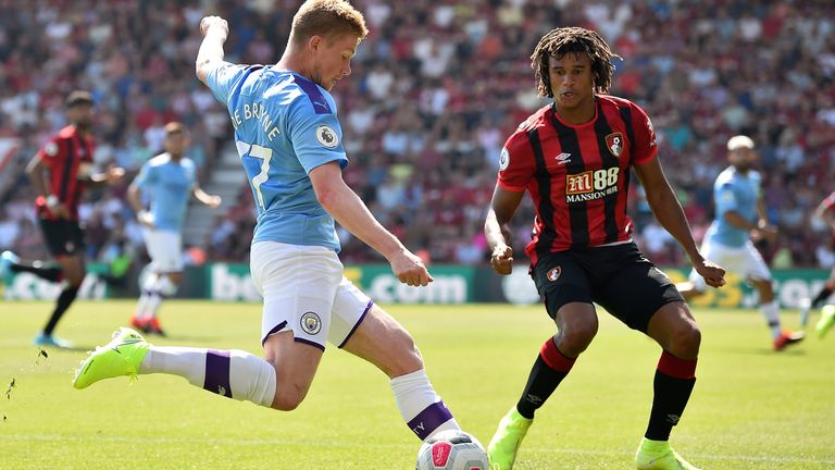 Nathan Ake is in Manchester for a medical