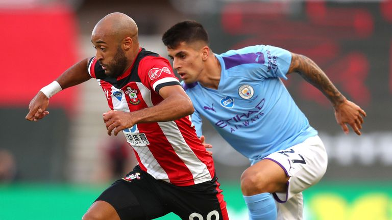 Nathan Redmond caused Joao Cancelo countless problems on Sunday evening