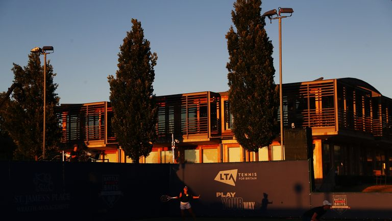 The National Tennis Centre opened back in 2007