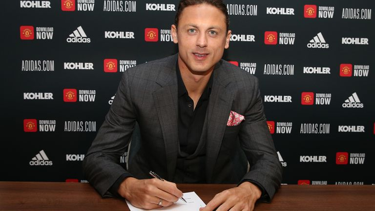 Nemanja Matic has signed a new deal at Manchester United