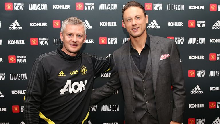 Solskjaer was delighted after Nemanja Matic signed a new deal