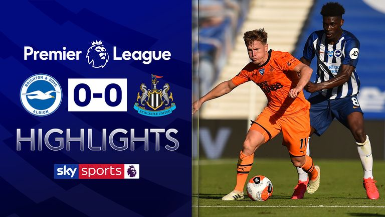 BRIGHTON 0-0 NEWCASTLE