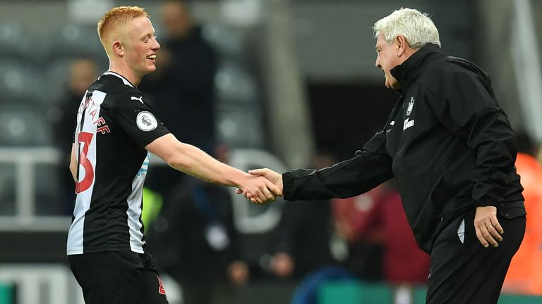 Steve Bruce will hold talks with Matty Longstaff on Friday afternoon