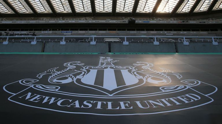 St James' Park - the home of Newcastle Utd