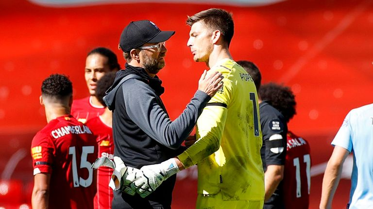 Klopp praises Nick Pope for his outstanding contribution to Burnley's point