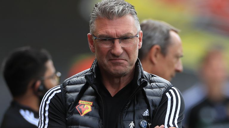 Nigel Pearson is contracted to Watford until the end of the current season