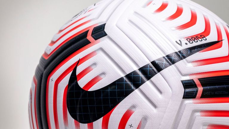 The design for the Nike Flight ball reflects some of the notable characteristics of Premier League gameplay