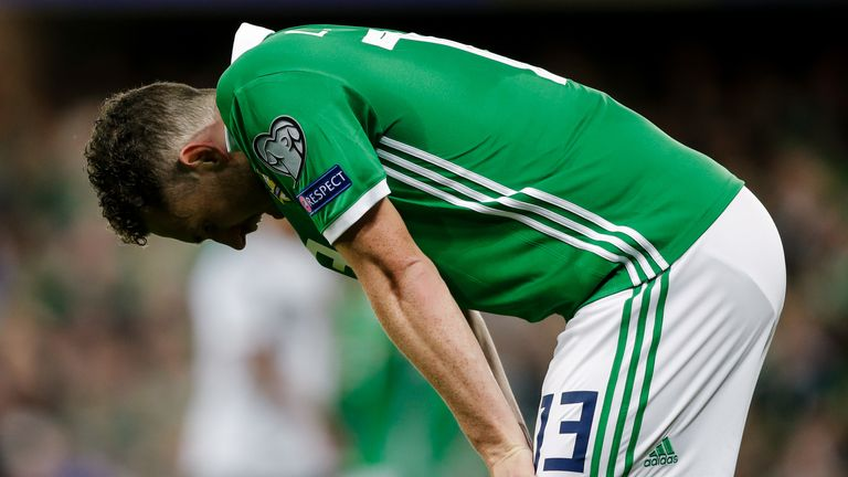 Northern Ireland lost all four of their games in the first Nations League