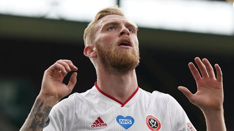 McBurnie has made 38 appearances for Sheffield United this season