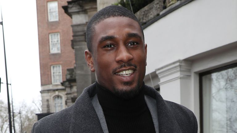 Ovie Soko pictured in London