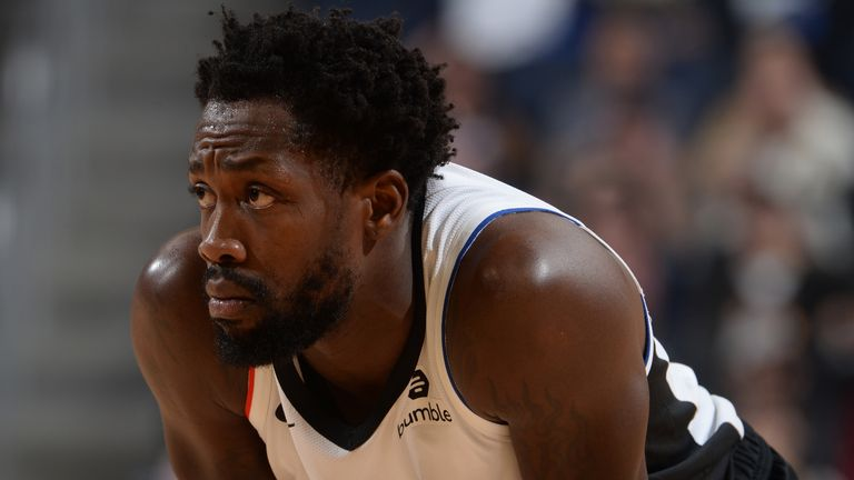LA Clippers guard Patrick Beverley in action during the 2019-20 regular season